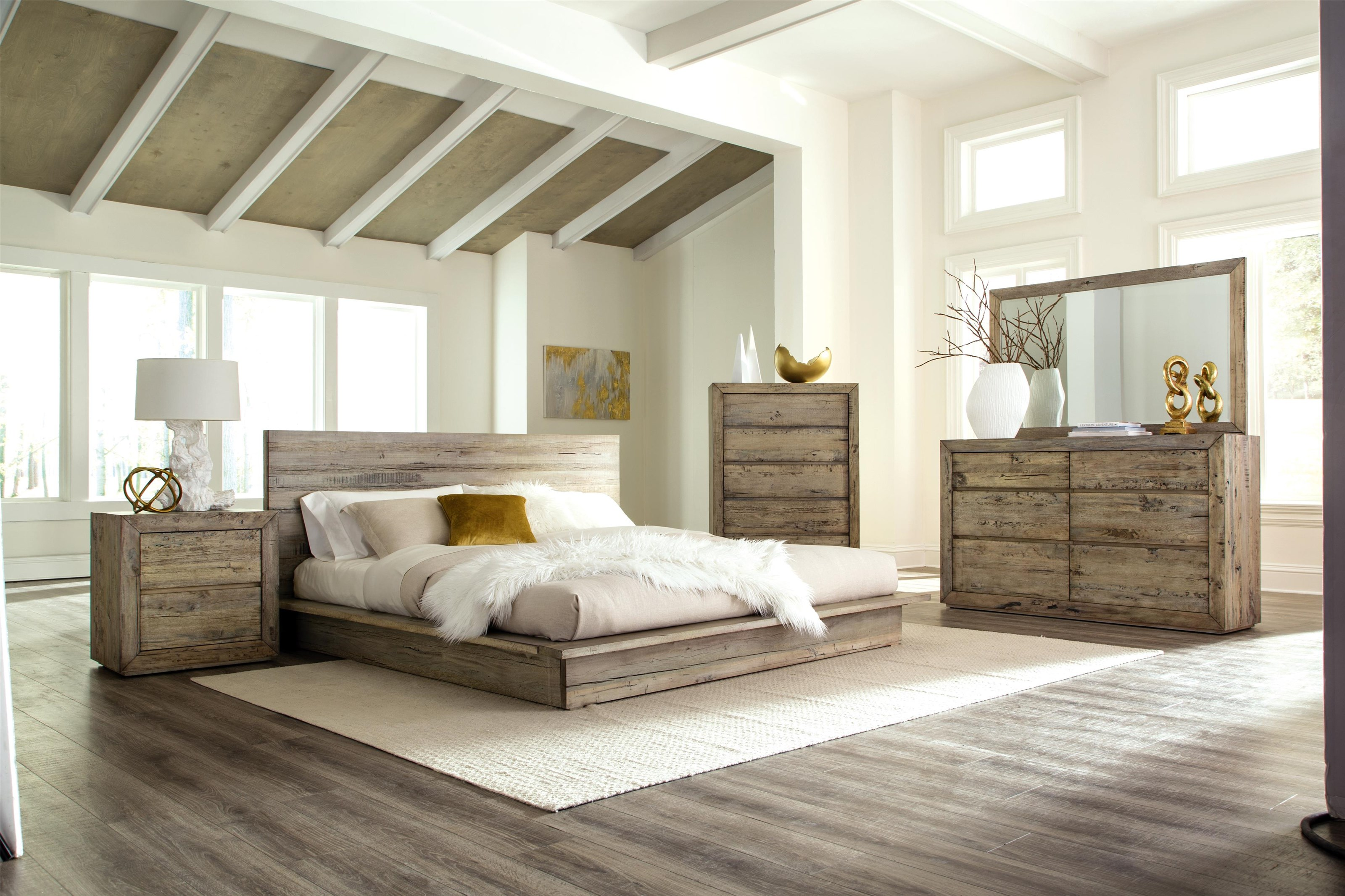 panel design doors with barn california furniture ashley low beds platform bed storage products signature king profile by cal