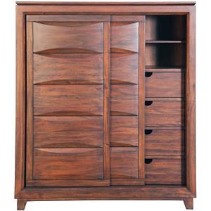 Napa Furniture Designs Riviera Sliding Door Cabinet/Wardrobe