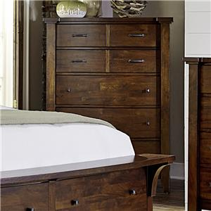 Napa Furniture Designs Whistler Retreat 5 Drawer Chest