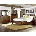Napa Furniture Designs Whistler Retreat King Storage Bed - Item Number: BRMBEDWO7913
