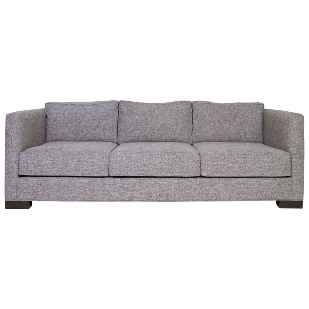 Nathan Anthony Boxster II Sofa - Item Number: UPHBOXES18