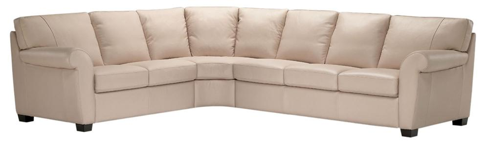 A121 Sectional Sofa  by Natuzzi Editions at Williams & Kay