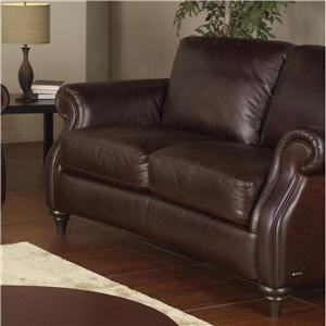 Natuzzi Editions A297 Leather Loveseat