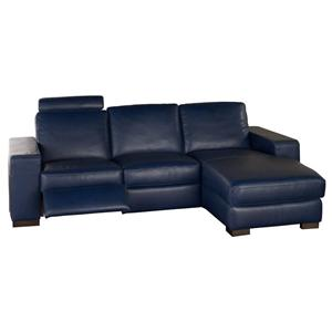 Natuzzi Editions A397 2 pc Reclining Sectional