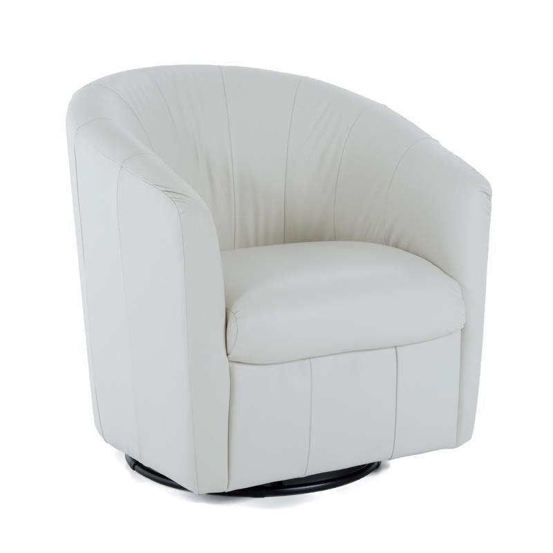 Natuzzi Editions Natuzzi Swivel Chair - Item Number: A835-066 10KASP