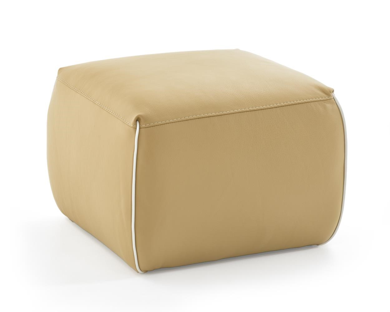 Natuzzi Editions A921 Ottoman - Item Number: A921-243 TAN