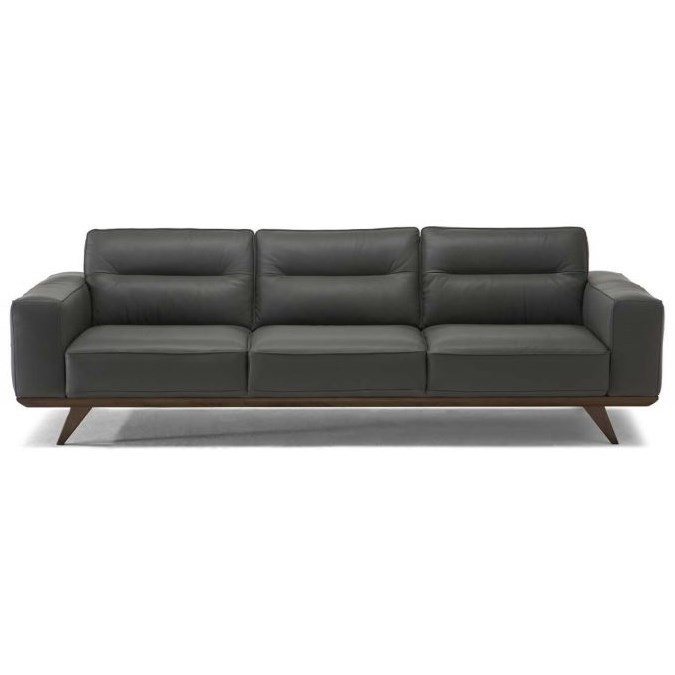 Natuzzi Editions Achille Contemporary Sofa With Splayed Legs | Boulevard  Home Furnishings | Sofas