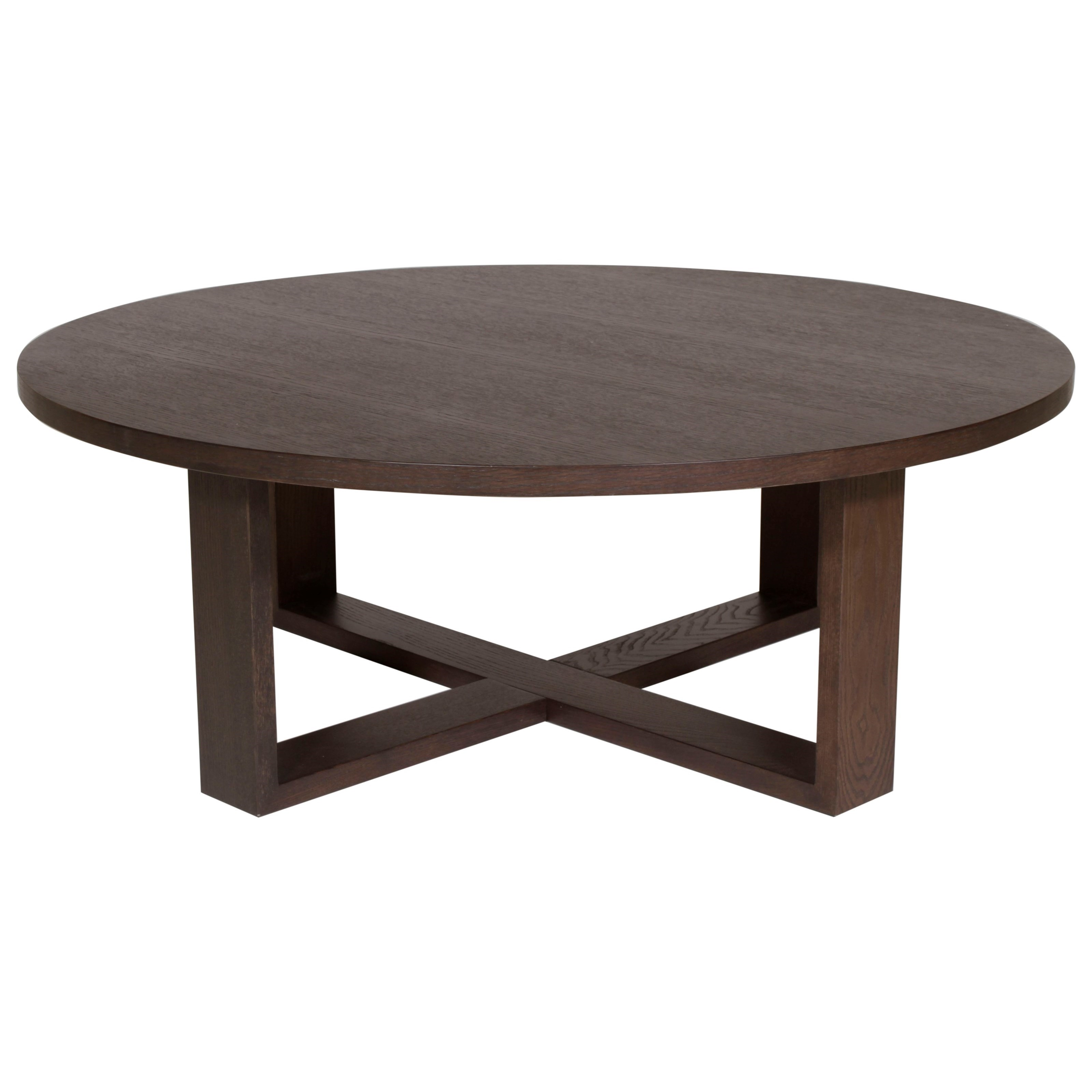Round Central Table