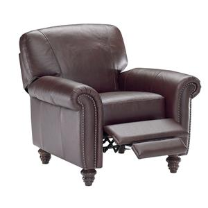 Natuzzi Editions B557 Leather Recliner