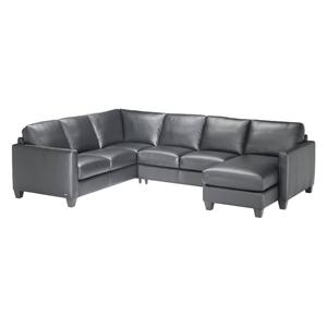Natuzzi Editions B591 3 pc. Sectional with Chaise