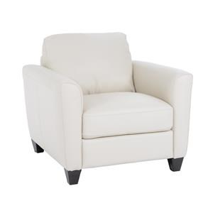 Natuzzi Editions B592 Contemporary Upholstered Chair