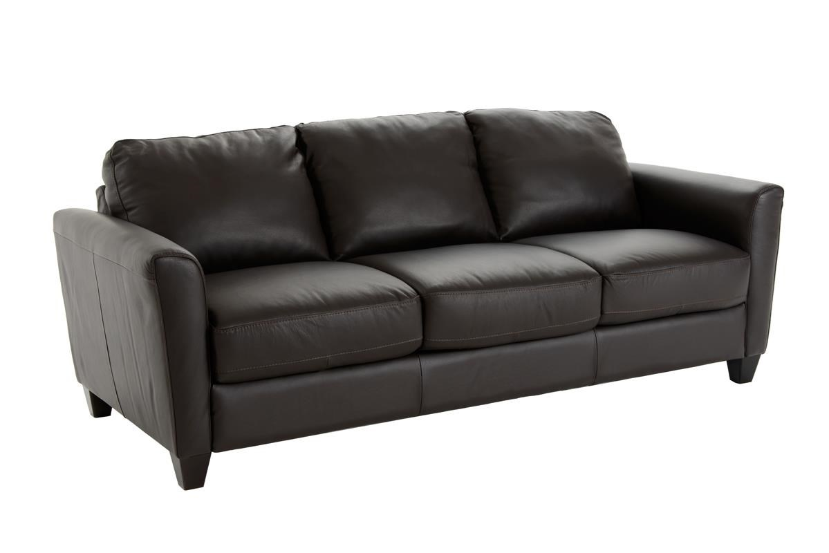Natuzzi Editions B592 Queen Sleeper - Item Number: B592-027 DARK BROWN