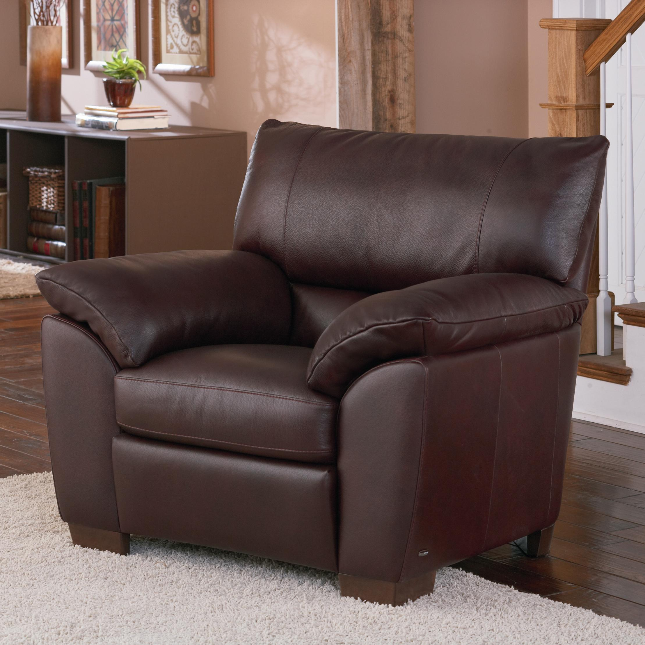 Natuzzi Editions B632 Leather Chair - Item Number: B632-003