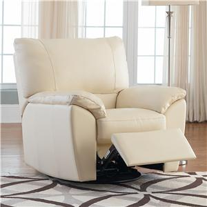 Natuzzi Editions B632 Leather Recliner