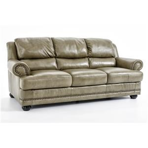 Natuzzi Editions B642 Leather Sofa