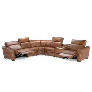 Natuzzi Editions B751 Reclining Sectional