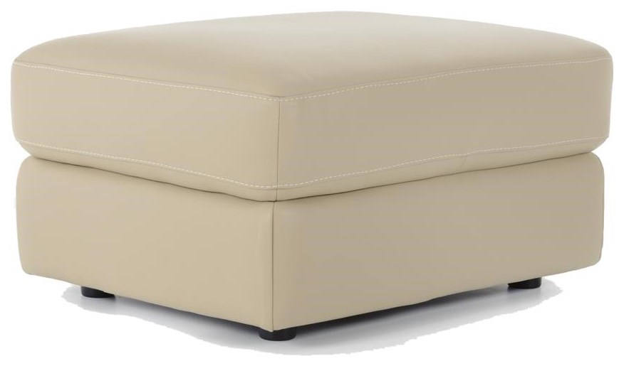 Natuzzi Editions B757 B757 010 Contemporary Ottoman Baer