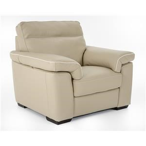 Natuzzi Editions B757 Chair and a half