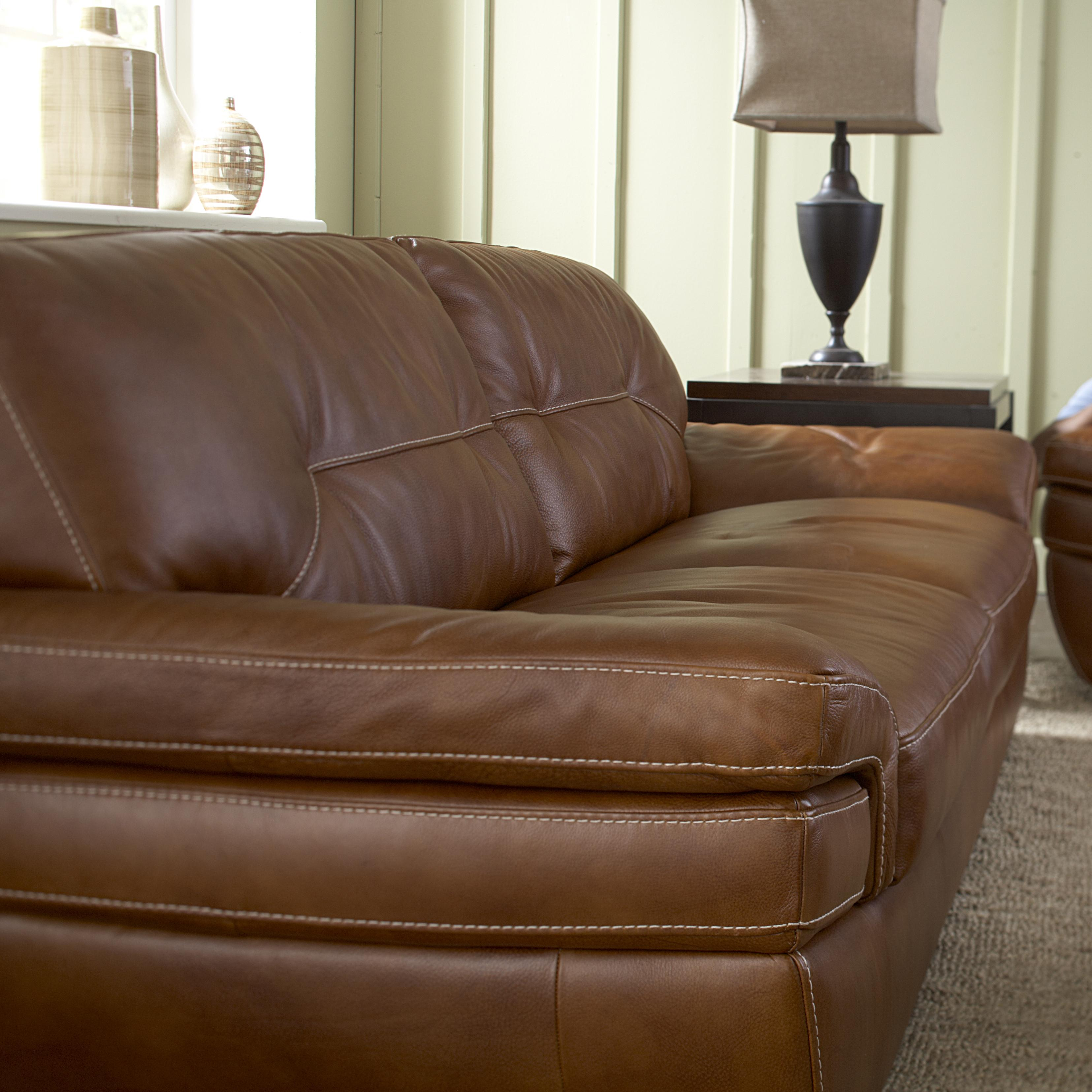 Natuzzi Editions B806 B806 009 Contemporary 2 Seat Sofa
