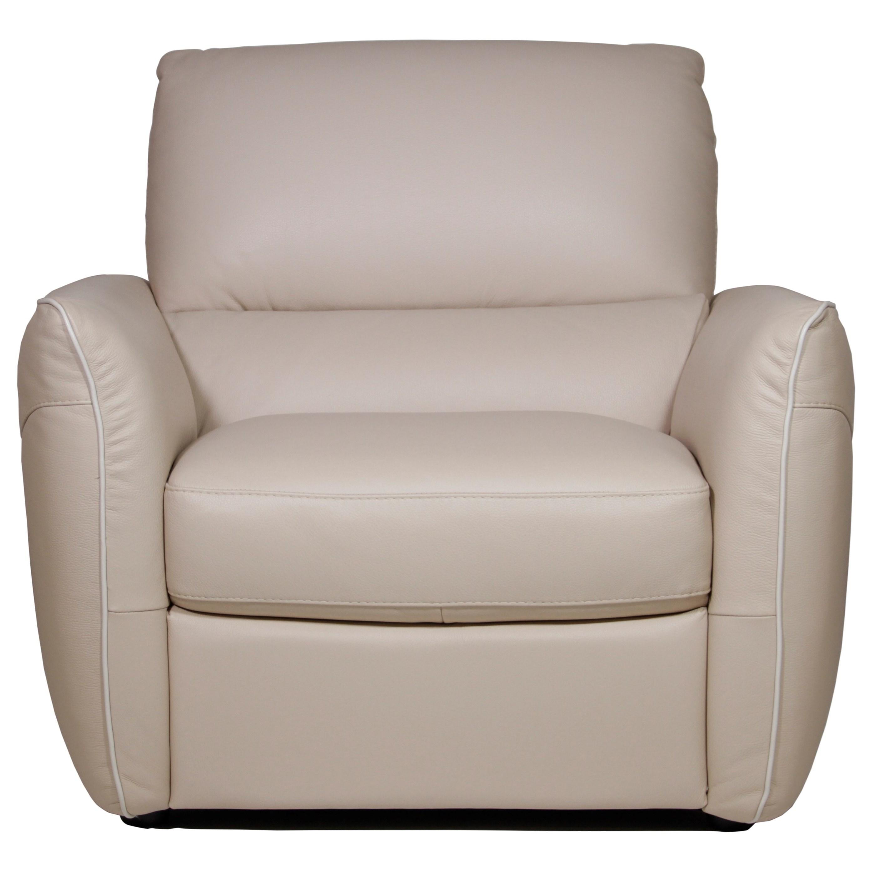 Natuzzi Editions Azzura Chair - Item Number: B842-003-10BG