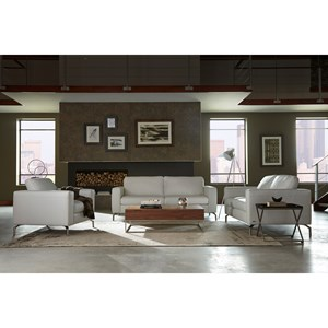 Natuzzi Editions B845 Stationary Living Room Group