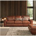Natuzzi Editions B858 Contemporary Track Arm Sofa