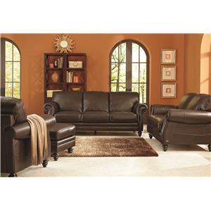 Natuzzi Editions B868 Stationary Living Room Group