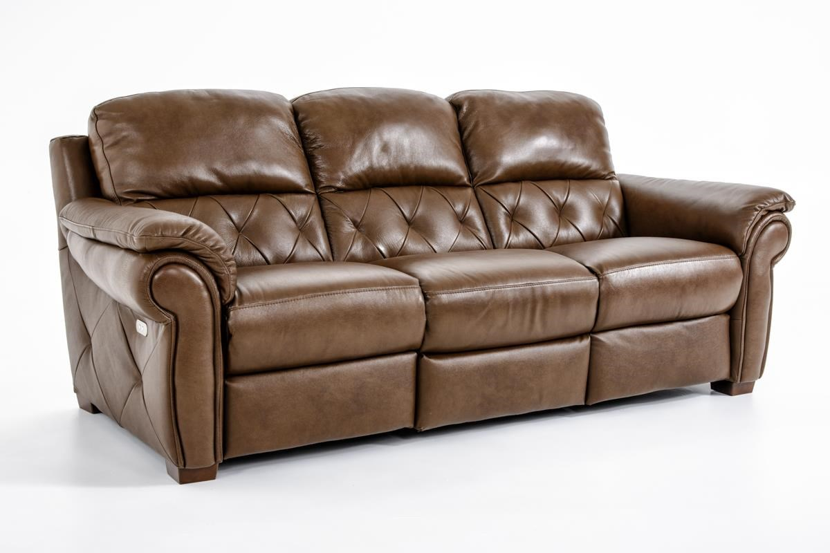 Natuzzi Editions B935 Reclining Sofa - Item Number: B935-155 PWR