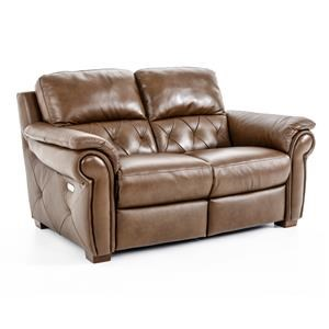 Natuzzi Editions B935 Reclining Loveseat