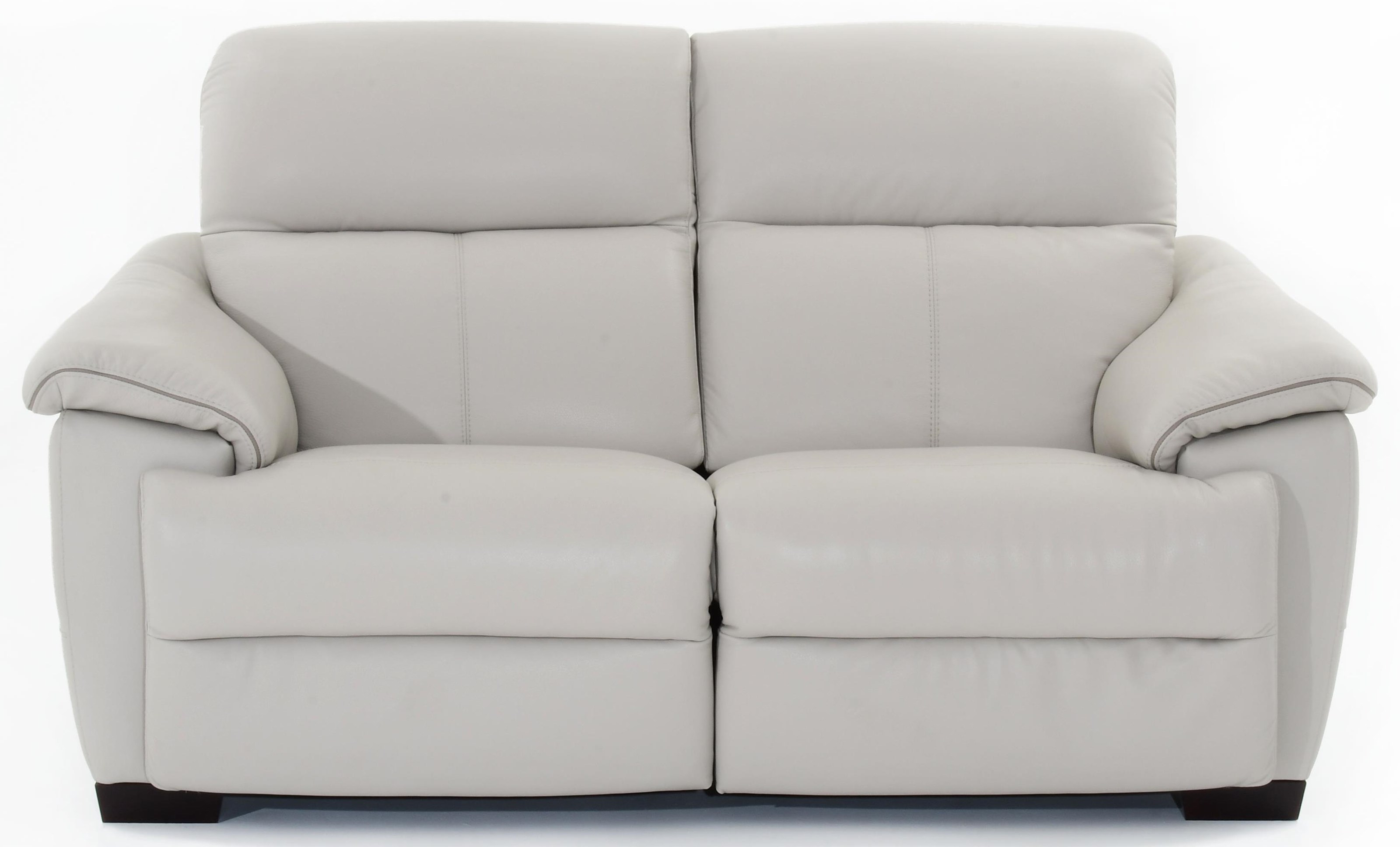 Natuzzi Editions Potenza Wall Hugger Power Reclining Sectional - Item Number: C063-N00+N02 1581sp-18 15C3