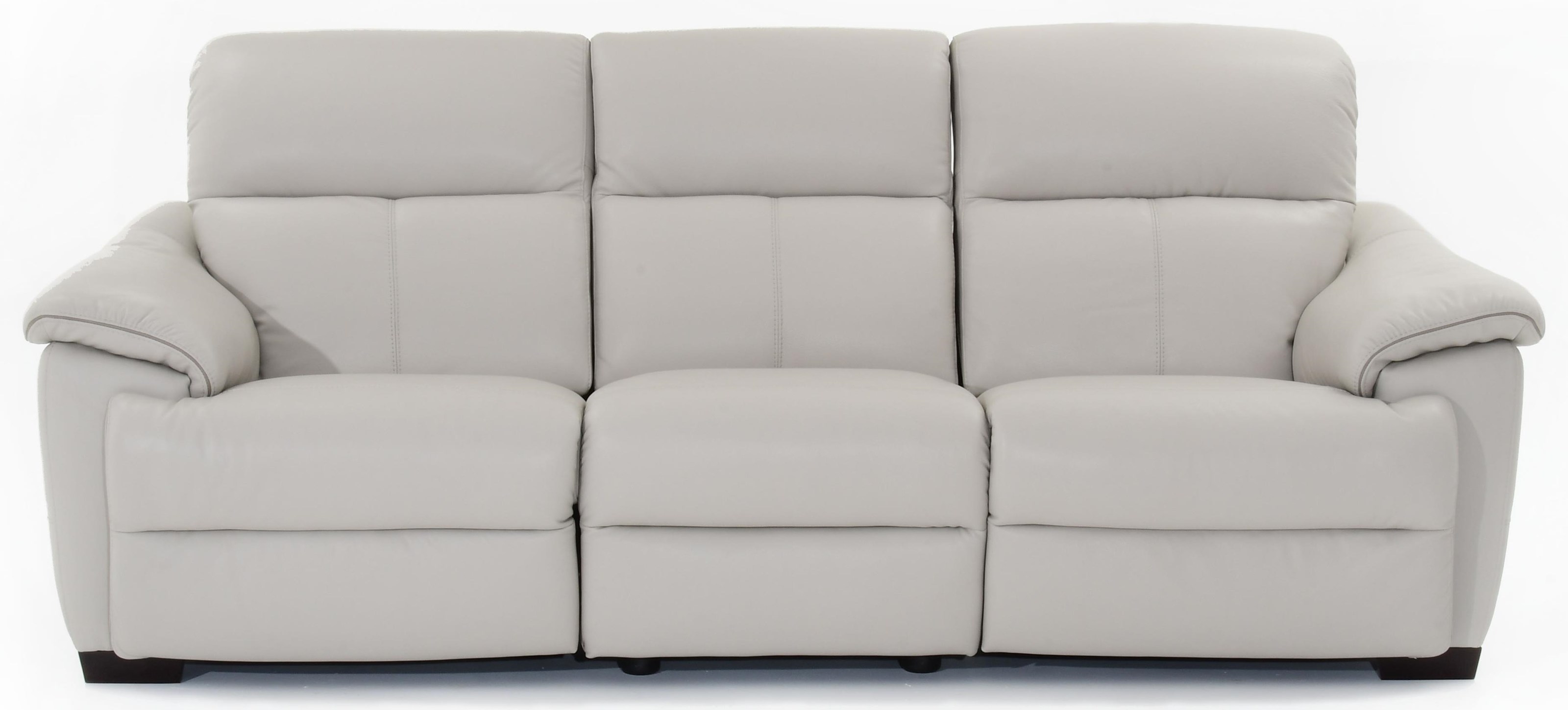 Natuzzi Editions Potenza Wall Hugger Power Reclining Sectional - Item Number: C063-N00+N02+001 1581sp-18