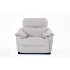 Natuzzi Editions Potenza Wall Hugger Power Recliner