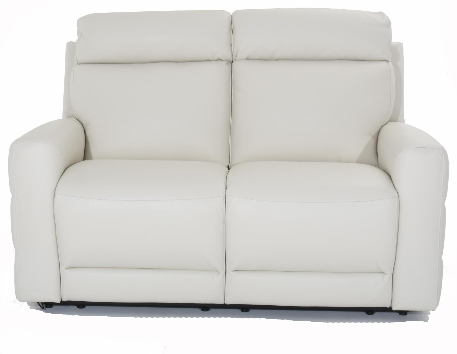 Benevolo Leather Power Reclining Loveseat by Natuzzi Editions at Baer's Furniture