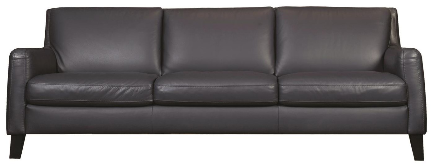 Catullo Leather Sofa by Natuzzi Editions at Sadler's Home Furnishings