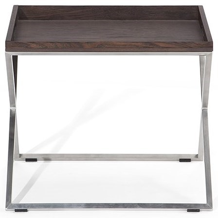 Conversano Accent Tray Table by Natuzzi Editions at HomeWorld Furniture