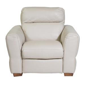 Natuzzi Editions Rimini Power Arm Chair