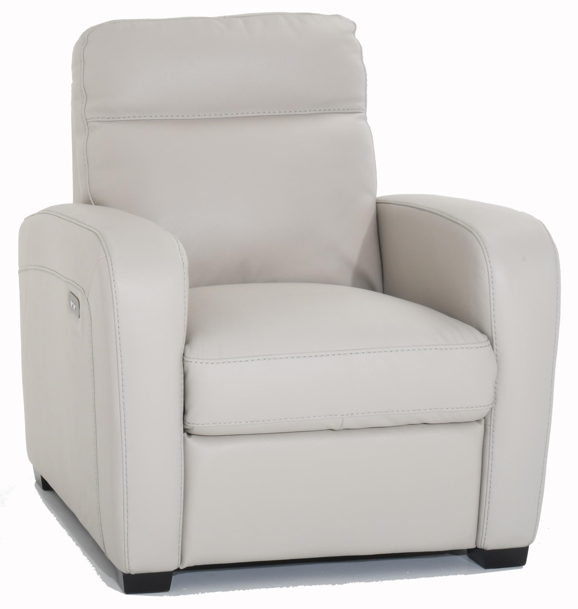Accoglienza Leather Power Recliner by Natuzzi Editions at Baer's Furniture