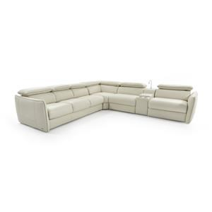 Natuzzi Editions Tullio Power Reclining Sectional Sofa