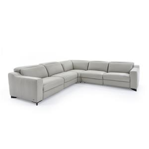 Natuzzi Editions Zaccaria Power Reclining Sectional Sofa