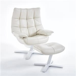 Natuzzi Re-vive 600 Model Uph Recliner Chair