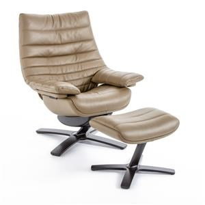 Natuzzi Re-vive 605 Model Swivel Recliner