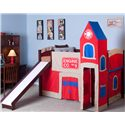 NE Kids School House Junior Loft  and Firehouse Tent - Item Number: 5060+0010