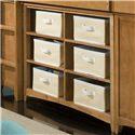 NE Kids School House Horizontal Bookcase - Item Number: 6568