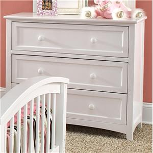 NE Kids School House Three Drawer Chest