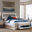 NE Kids East End White Full Spindle Bed - Item Number: 7100-461N+001