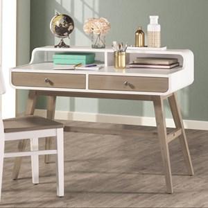 NE Kids White Desk
