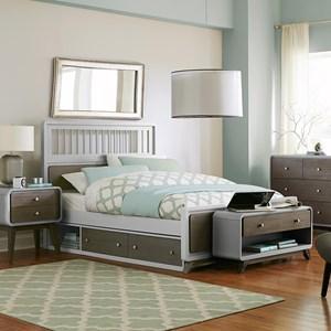 NE Kids East End Full Spindle Bed
