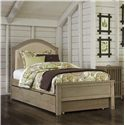 NE Kids Highlands Twin Bailey Upholstered Bed with Trundle - Item Number: 10010+10560