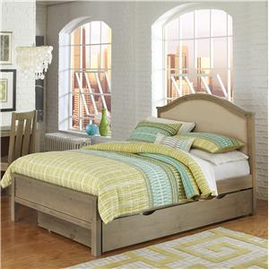 NE Kids Highlands Full Bailey Upholstered Bed with Trundle
