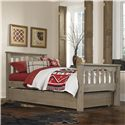 NE Kids Highlands Twin Harper Bed with Trundle - Item Number: 10050+10560